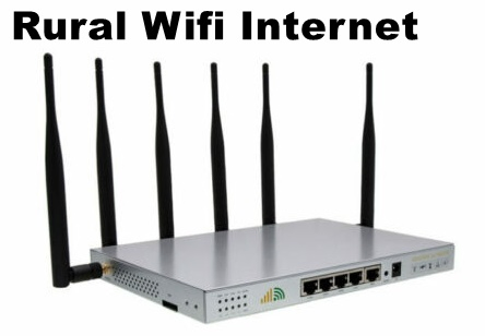 Rural WiFi Internet Service