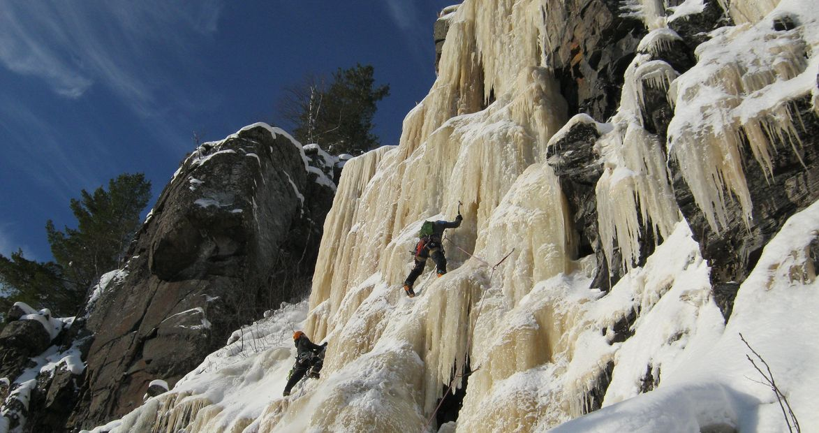 Section Ice Climbing Event January 2014