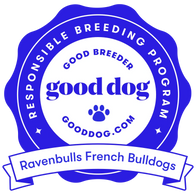 Recognized as a responsible breeder by Gooddog.com