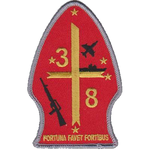 3rd Battalion 8th Marines Unit Patch