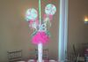 Glitter Lollipops with 16 and Candy Centerpieces