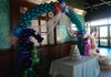 Balloon Arch with Seahorse and Number & Name