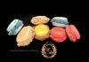 Multiple flavors Macaroons - Blueberry, Passion Fruit, Strawberry, Red Berries & Vanilla