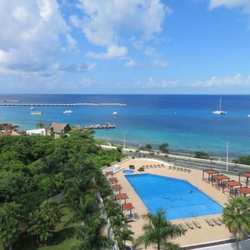 Cozumel Penthouse-Vacation Rental-View from the terrace