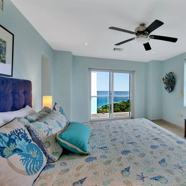 Cozumel Penthouse-Vacation Rental- Master Bedroom