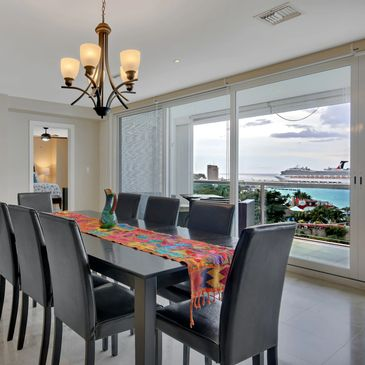 Cozumel Penthouse-Vacation Rental-Dining Area
