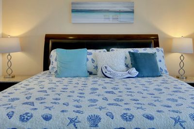 Cozumel Penthouse-Vacation Rental-King Bed