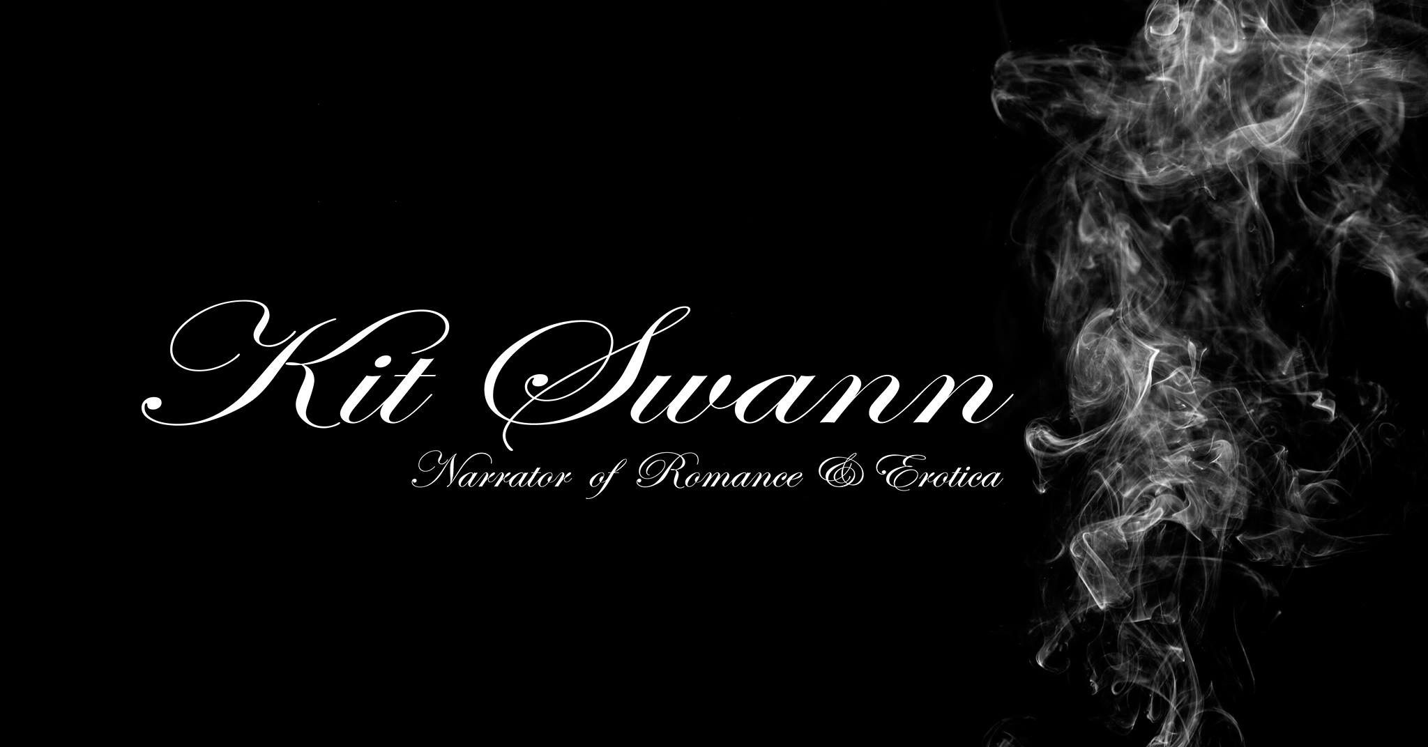 Kit Swann logo - Narrator of Romance and Erotica