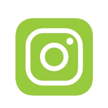 Instagram Icon, Green