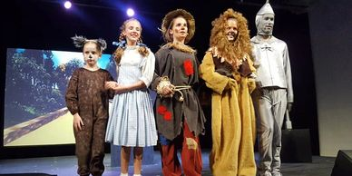Wizard of Oz, Tin Man, Dorothy, Scarecrow, Toto, Production