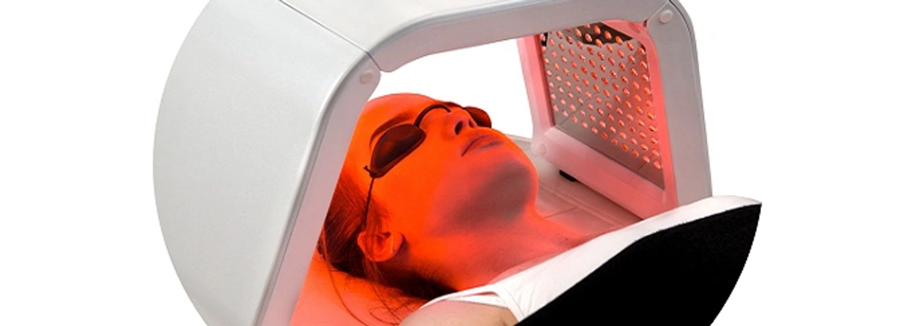 quad glow light therapy for face and body reduces fine lines, wrinkles, age spots, acne, lymph drain