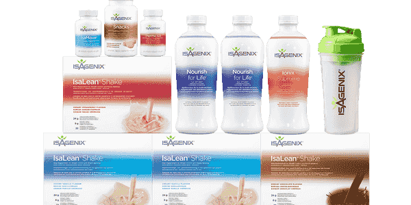 multiple isagenix products
