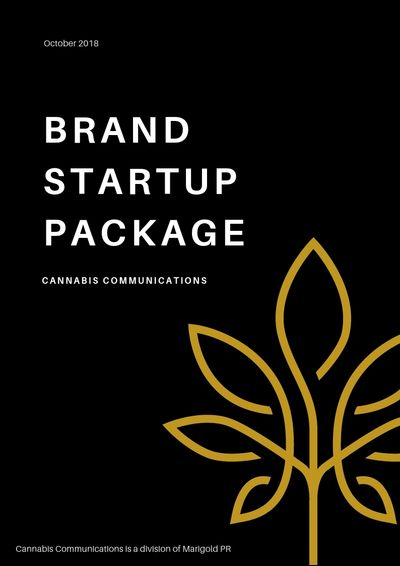 Brand Startup Package for the Cannabis Industry. Social media, newsletters, CRM & community