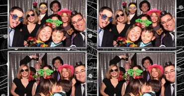 Graduation party photo booth rental