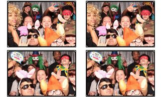 Photo booth rental for corporate event company party