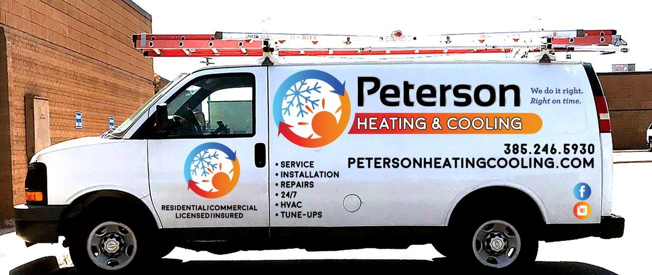 Peterson Heating Cooling Hvac Repair Salt Lake County