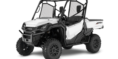 "All new model for 2020 PIONEER 1000 DELUXE $16,799 Premium Features LED headlights  14"" blacked-out"