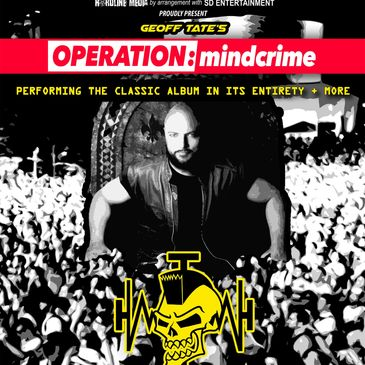 Geoff Tate Operation Mindcrime Australia Australian Tour 2020 Queensryche Hardline Media poster