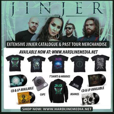 Jinjer back catalogue Macro Micro cloud factory king of everything pisces merchandise napalm records