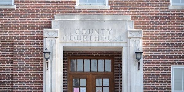 County Courthouse entrance