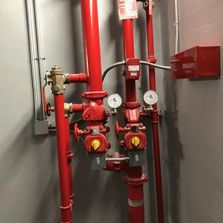 Commercial fire suppression system