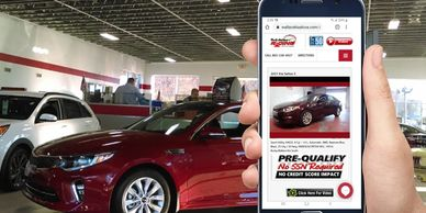 best soft inquiry program for car dealers generates inventory VIN specific leads with credit reports