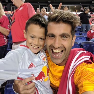 Franco and Domenico at Red Bull Arena