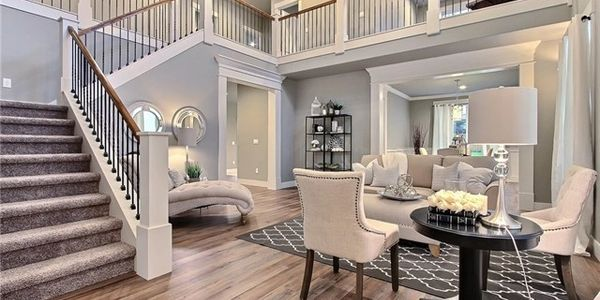 Example of Brenda's staging she offers her listing clients. Staging is a passion for her!