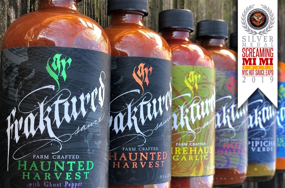 Haunted Harvest award winning hot sauce