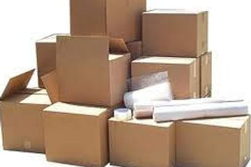 Packing Supplies and Materials  Boxes Tape Bubble wrap Full line of supplies
