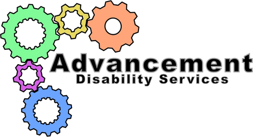 Advancement disability services logo