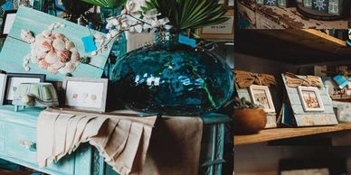 We seek out unique items to inspire your inner mermaid. Coastal Home Decor