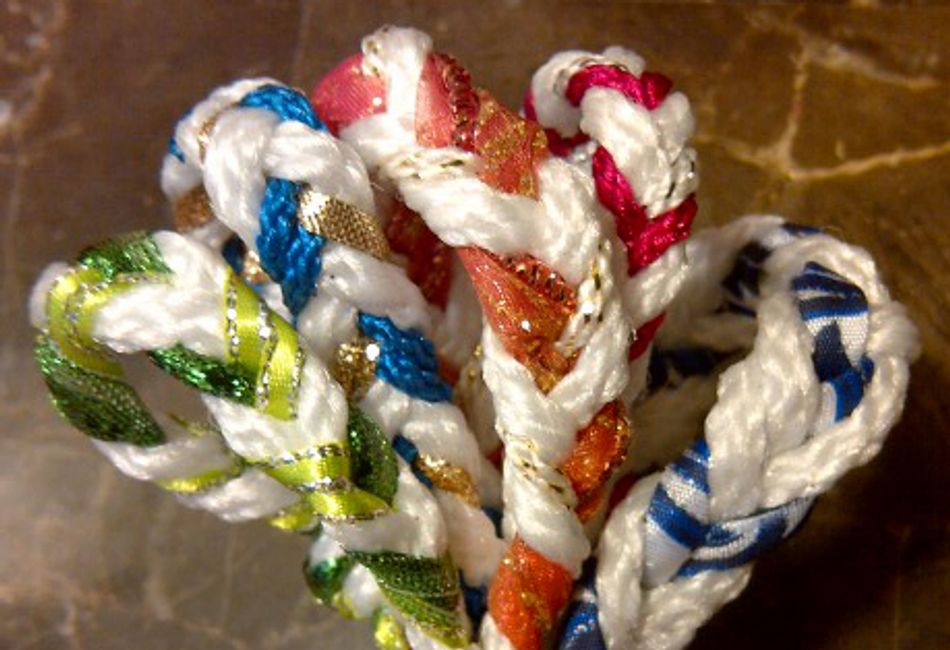 Handfasting cord colors and what they mean.