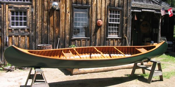 wood canvas canoe