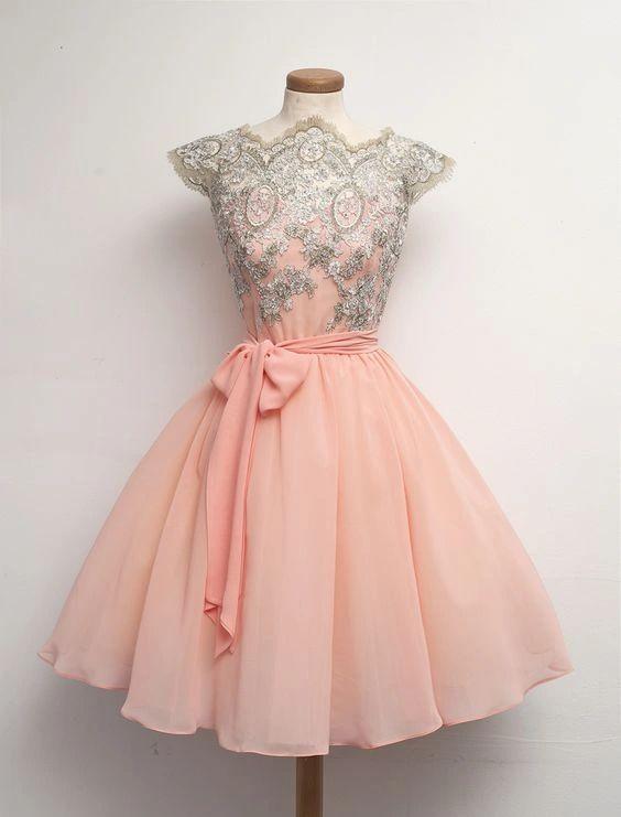 vestido rosa 15 años