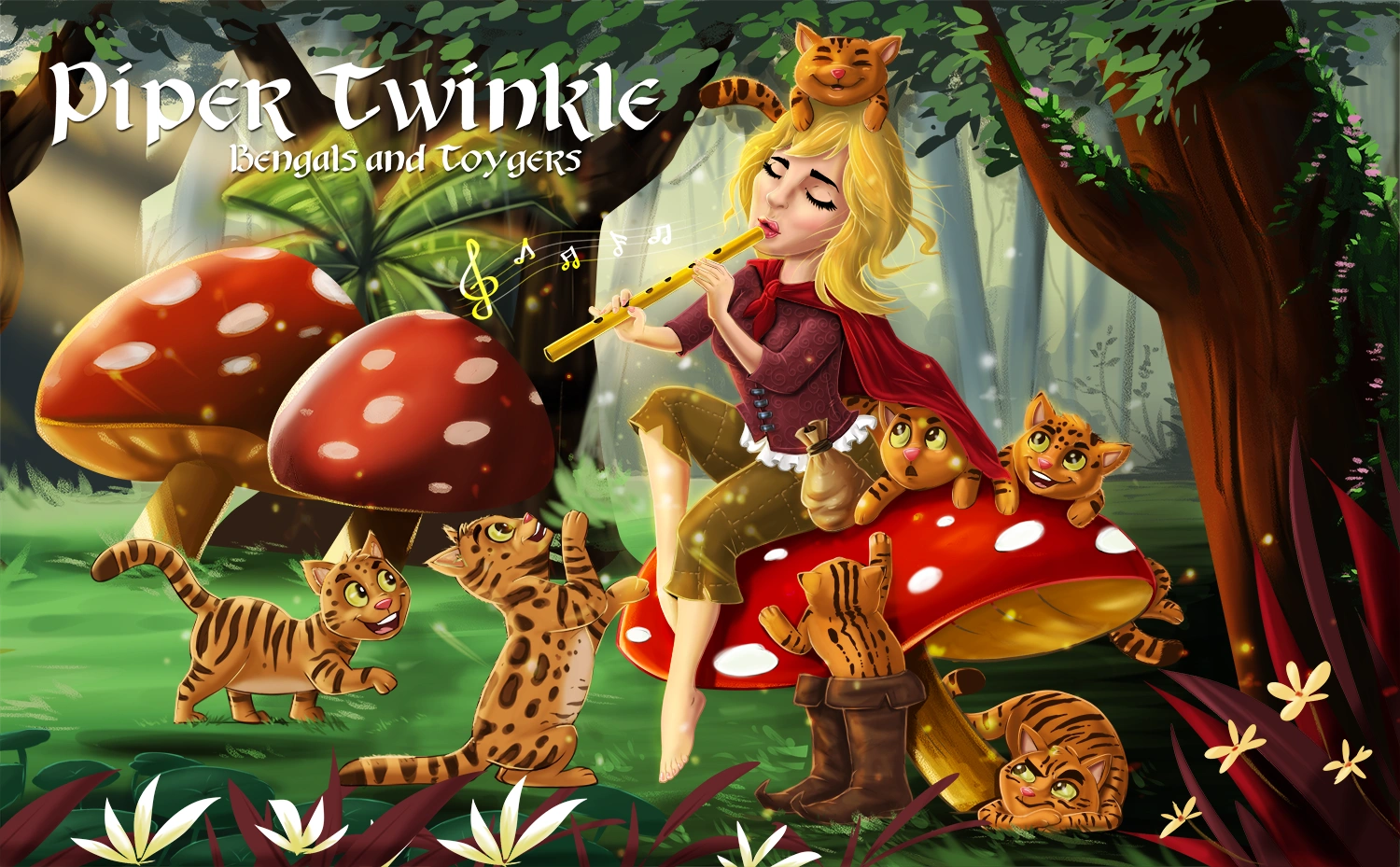Pipertwinkle Bengals and Toygers, Registered with the New Zealand Cat Fancy and TICA.