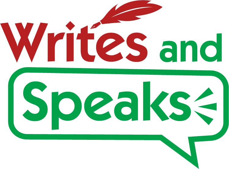 Writes and Speaks