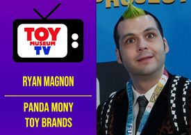 Marlene Hochman interviews Panda Mony Toy Brands, for Toy Museum TV.