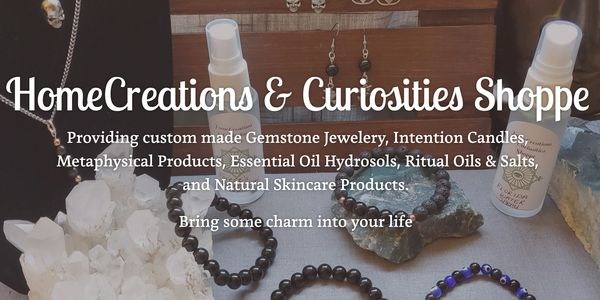 HomeCreations Curiosities Shoppe  Winnipeg, MB Into The Mystic Metaphysical Expo Treasured Gifts 'n