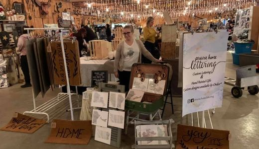 Prairie Home Lettering Treasured Gifts 'n Things, Shop Online Events & Craft Shows, Winnipeg, MB