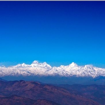 Himalaya from LOHAGHAT.  PICTURE COURTESY : Gopi Verma _Flickr (www.flickr.com/photos/gopi_verma)