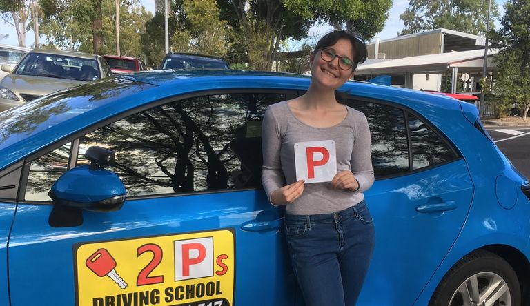 Ipswich driving school lesson pass test 1st time