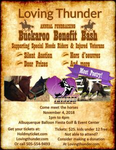 Buckaroo Benefit Bash flyer