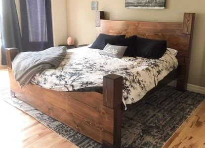 Live edge timber & log beds
