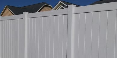 Vinyl Fence Wilmington North Carolina