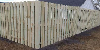 Wood Fence Wilmington North Carolina