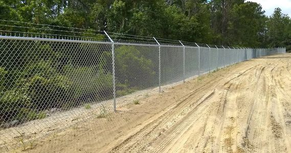 Commercial Chain Link Fence Supply