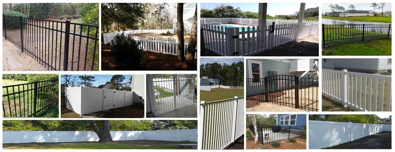 Fence Contractor Wilmington NC Aluminum, Vinyl, Chain Link, Wood Postmaster,  Supply, Installation