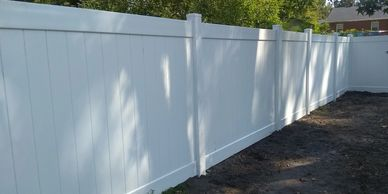 Vinyl Privacy Fence Wilmington, NC