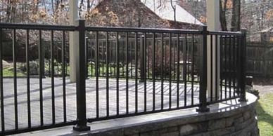 aluminum handrail Wilmington North Carolina